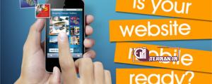 آیا وب سایت شما سازگار با تلفن همراه است؟