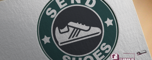 طراحی لوگوی ارزان برای تولیدی کفش اسپورت