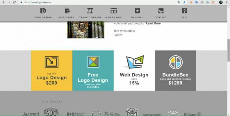 سایت طراحی آنلاین لوگو