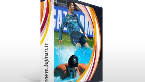 مجموعه تصاویر ورزشی خام