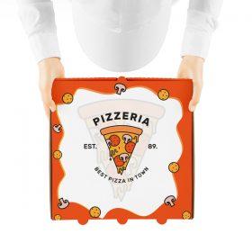 دانلود موکاپ جعبه پیتزا
