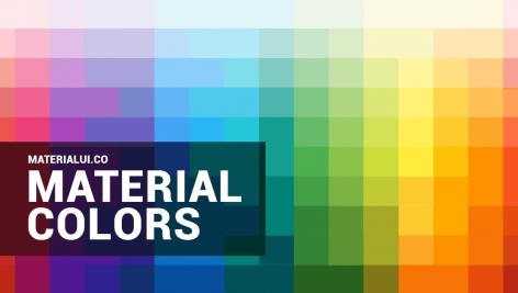 دانلود نرم افزار پالت رنگ متریال برای ویندوز