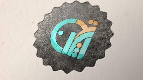 موکاپ لوگو روی کاغذ – دانلود رایگان موکاپ لوگو