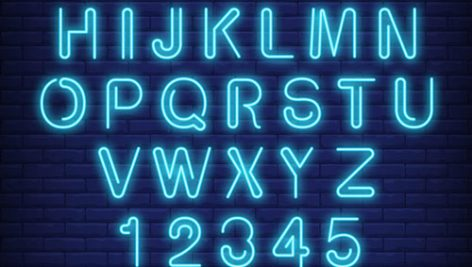 حروف نئون