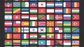 فایل لایه باز پرچم کشورها