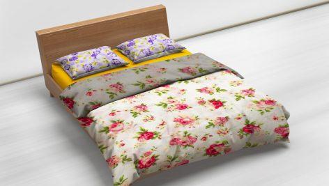 موکاپ تخت خواب