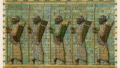 تصویر استوک سربازان هخامنشی