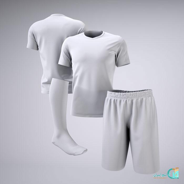 موکاپ لباس فوتبال