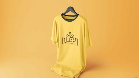 موکاپ تی شرت