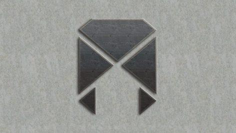 موکاپ رایگان لوگو روی سنگ