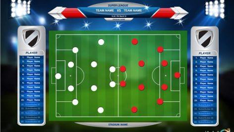 وکتور ترکیب فوتبال
