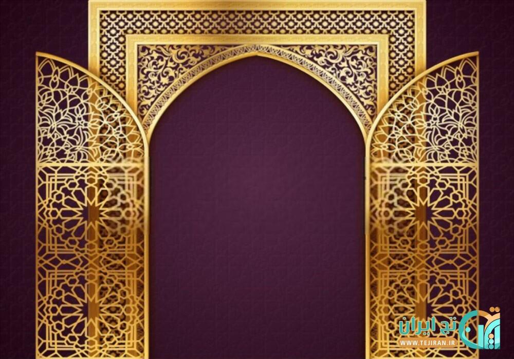 وکتور دروازه مذهبی