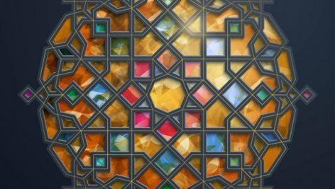 وکتور پنجره مذهبی