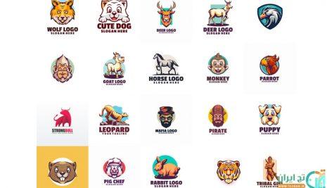 مجموعه 20 لوگوی لایه باز