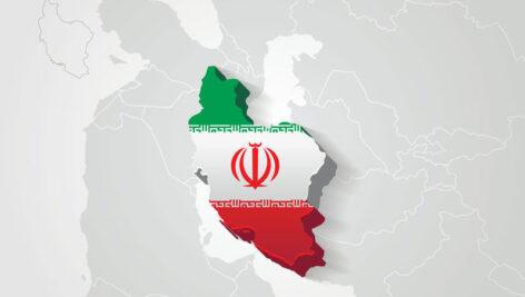 نقشه سه بعدی ایران