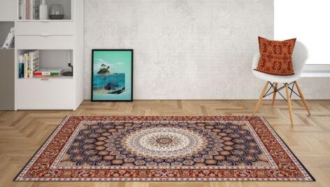 موکاپ فرش و کاغذ دیواری