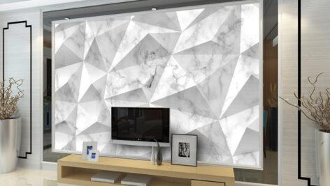 پوستر دیواری مثلثی